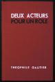 Couverture Deux acteurs pour un rôle Editions Charpentier 1875