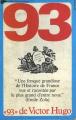 Couverture Quatrevingt-treize Editions Bellerive 1973