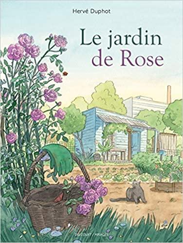 Couverture Le jardin de Rose