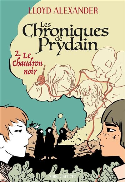 Couverture Chroniques de Prydain, tome 2 : Le Chaudron noir