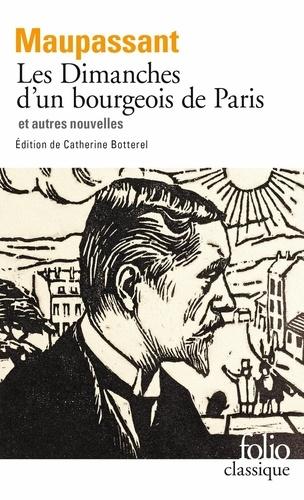Couverture Les Dimanches d'un bourgeois de Paris et autres nouvelles