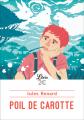 Couverture Poil de carotte Editions Librio (Littérature) 2019