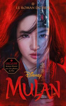 Couverture Mulan : Le roman du film