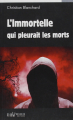 Couverture L'immortelle qui pleurait les morts Editions du Palémon 2015