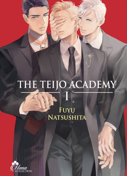 Couverture The Teijo Academy, tome 1