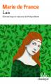 Couverture Lais / Les Lais Editions Folio  2020
