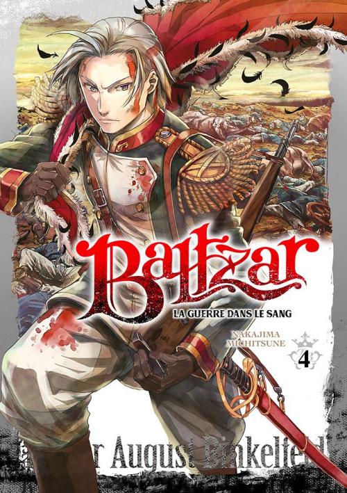 Couverture Baltzar : La guerre dans le sang, tome 4