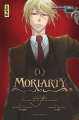 Couverture Moriarty, tome 1 Editions Kana (Dark) 2018
