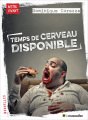 Couverture Temps de cerveau disponible Editions Le muscadier 2019