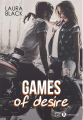 Couverture Games of Desire Editions Addictives 2020