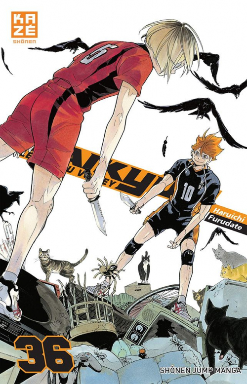 Couverture Haikyû !! : Les as du volley ball, tome 36