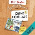 Couverture Agatha Raisin enquête, tome 12 : Crime et déluge Editions Audible studios 2018