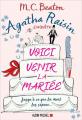Couverture Agatha Raisin enquête, tome 20 : Voici venir la mariée Editions Albin Michel 2020