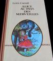 Couverture Alice au pays des merveilles, Alice à travers le miroir Editions Prodifu 1979