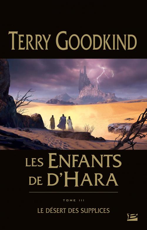 Couverture Les Enfants de D'Hara, tome 3 : Le Désert des Supplices