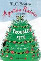 Couverture Agatha Raisin enquête, tome 21 : Trouble fête Editions Albin Michel 2020