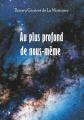 Couverture Au plus profond de nous-même Editions Books on demand 2019