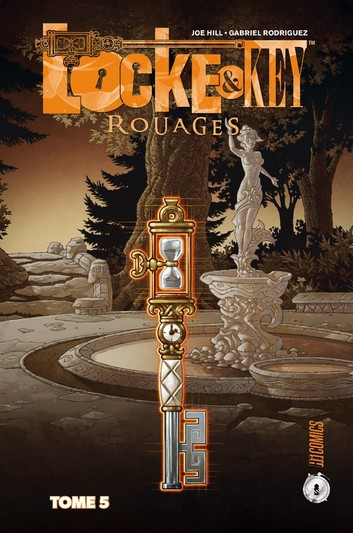 Couverture Locke & Key, tome 5 : Rouages