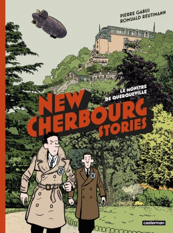 Couverture New Cherbourg Stories, tome 1 : Le Monstre de Querqueville