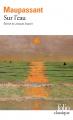 Couverture Sur l'eau Editions Folio  (Classique) 2019