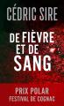 Couverture De fièvre et de sang Editions Autoédité 2020