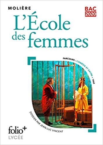 Couverture L'Ecole des femmes