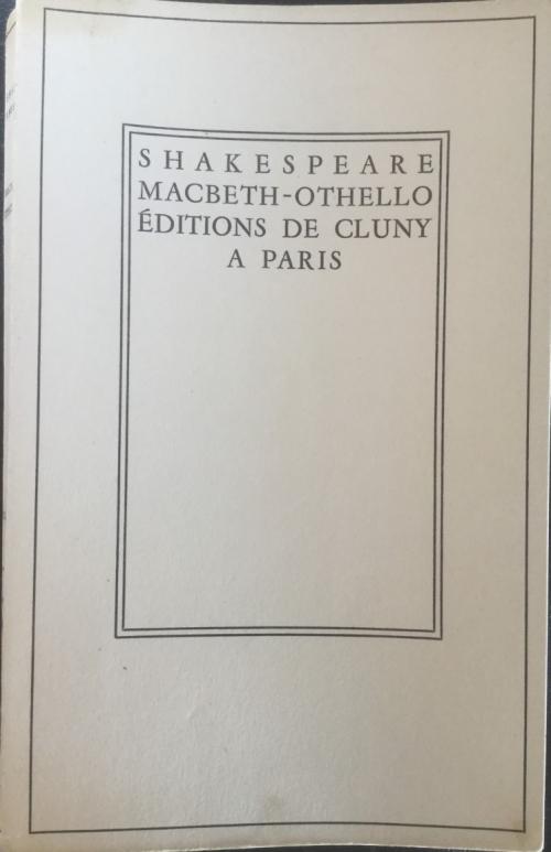 Couverture Macbeth - Othello