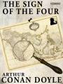 Couverture Le signe des quatre / Le signe des 4 Editions Feedbooks 1890