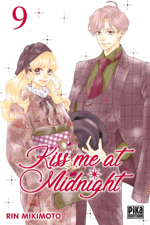 Couverture Kiss me at midnight, tome 09