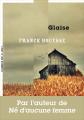 Couverture Glaise Editions La manufacture de livres 2019