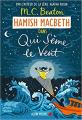 Couverture Hamish Macbeth, tome 6 : Qui sème le vent Editions Albin Michel 2020