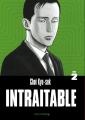 Couverture Intraitable, tome 2 Editions Rue de l'échiquier 2020