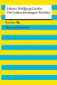 Couverture Les souffrances du jeune Werther Editions Reclam 2013
