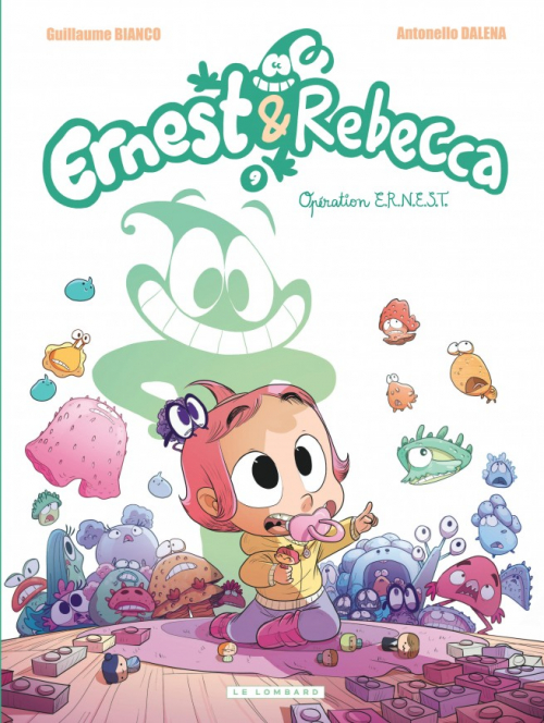 Couverture Ernest & Rebecca, tome 9 : Opération E.R.N.E.S.T.