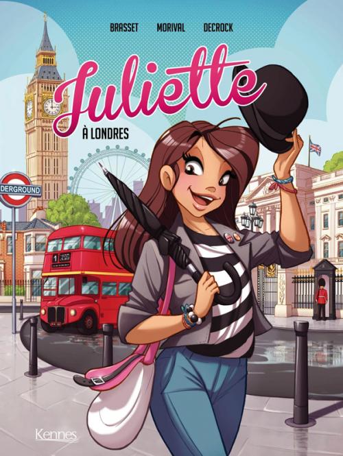 Couverture Juliette, tome 3 : Juliette à Londres (BD)