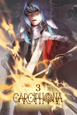 Couverture Carciphona, tome 3