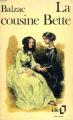 Couverture La cousine Bette Editions Folio  1972