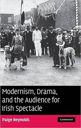 Couverture Modernism, Drama, and the Audience for Irish Spectacle