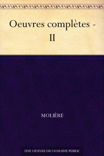 Couverture Œuvres complètes (Molière Bibebook), tome 2