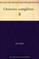 Couverture Œuvres complètes (Molière Bibebook), tome 2 Editions Bibebook 2011
