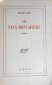Couverture Les Faux-monnayeurs Editions Gallimard  1955