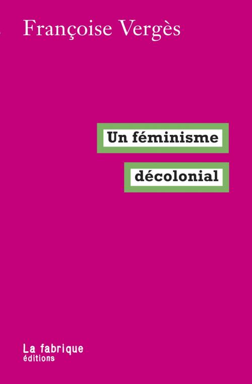 Couverture Un féminisme décolonial
