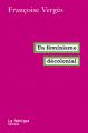 Couverture Un féminisme décolonial Editions La Fabrique 2020