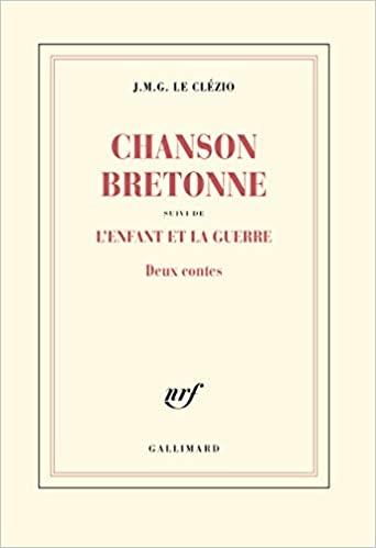 Couverture Chanson bretonne suivi de L'enfant et la guerre