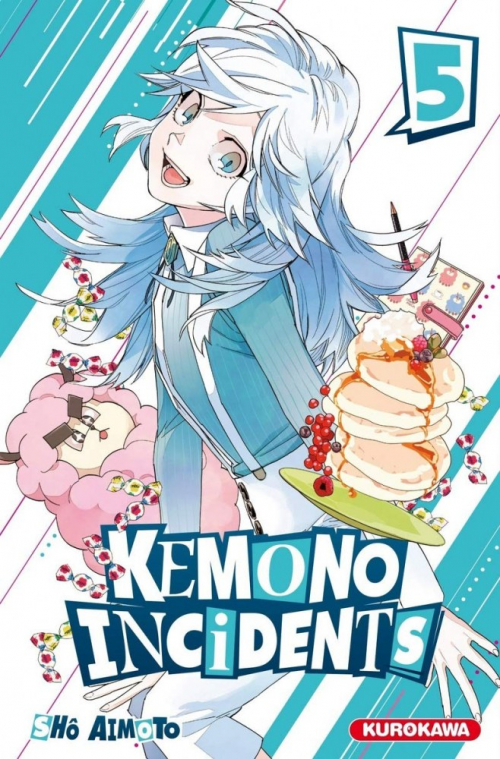 Couverture Kemono Incidents, tome 05