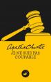 Couverture Je ne suis pas coupable Editions Le Masque 2013