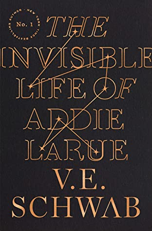 Couverture The Invisible Life of Addie LaRue