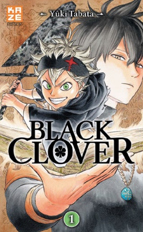Couverture Black Clover, tome 01