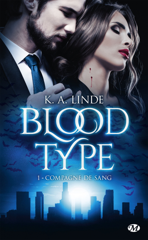 Couverture Blood type, tome 1 : Compagne de sang