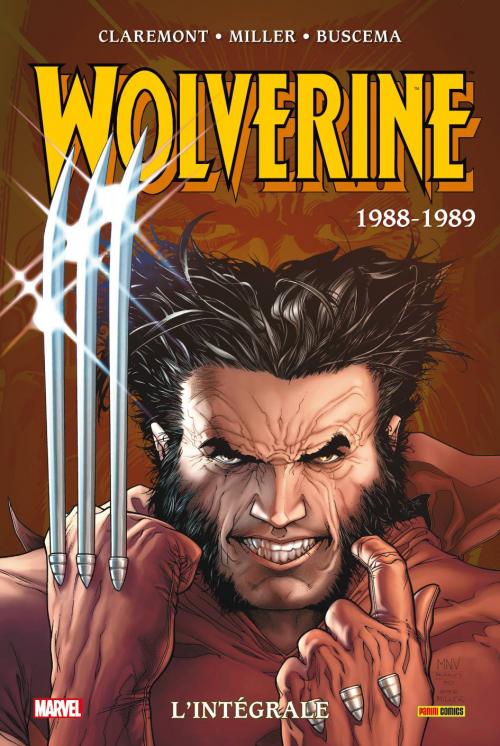Couverture Wolverine, intégrale : 1988-1989